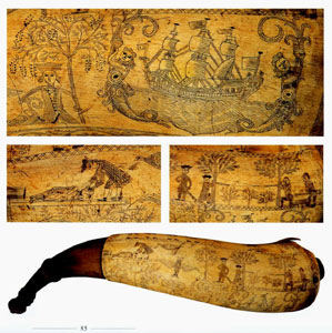 Inside The Engraved Powder Horn